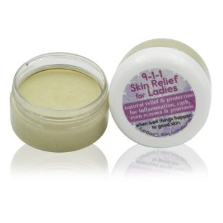 All natural 911 skin relief shae butter balm for women