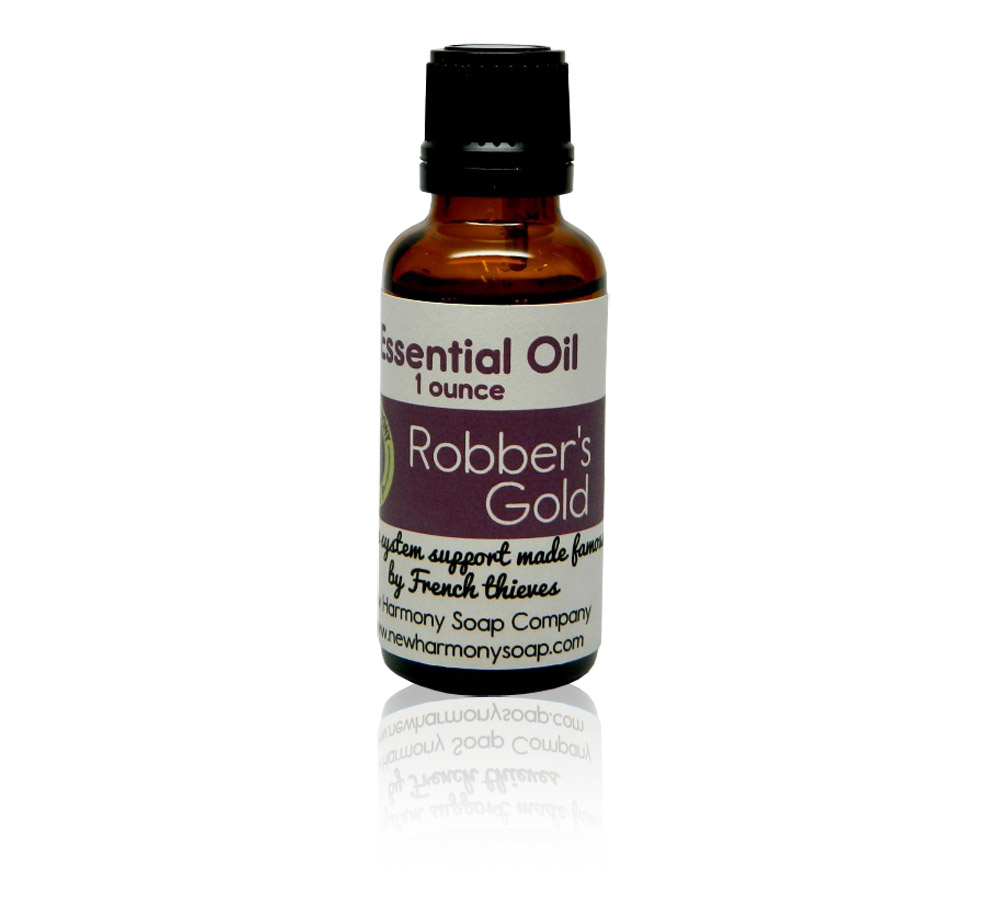 All natural Robber's Gold essential oil